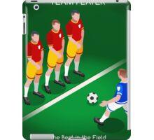 Football Team Player iPad Case/Skin