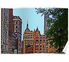 A view from Union Square - New York City Poster