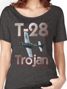 North American T-28 Trojan T-shirt Design Women's Relaxed Fit T-Shirt