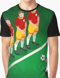 Football Team Player Graphic T-Shirt