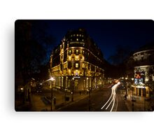 London races Canvas Print