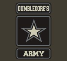 Dumbledore's Army (grey/blk) by Benjamin Whealing