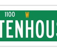 Rittenhouse Square, Philadelphia, PA Street Sign USA Sticker