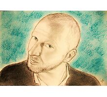 Blue portrait CV... Photographic Print