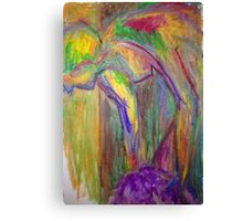 Color study- warm and bright Canvas Print