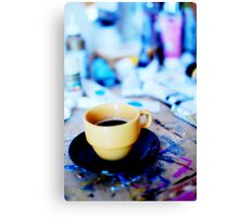 An artistic morning Canvas Print