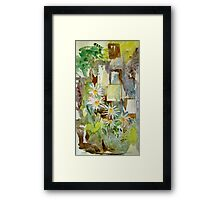 Out of the Ruins Framed Print