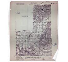 USGS Topo Map Washington State WA Wallulah 244524 1915 96000 Poster
