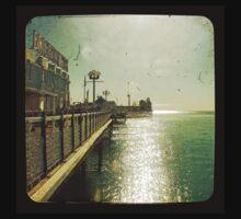 Brighton Pier Sun Baby Tee