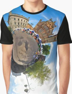 Walled City Market, Guildhall Square, Derry Graphic T-Shirt