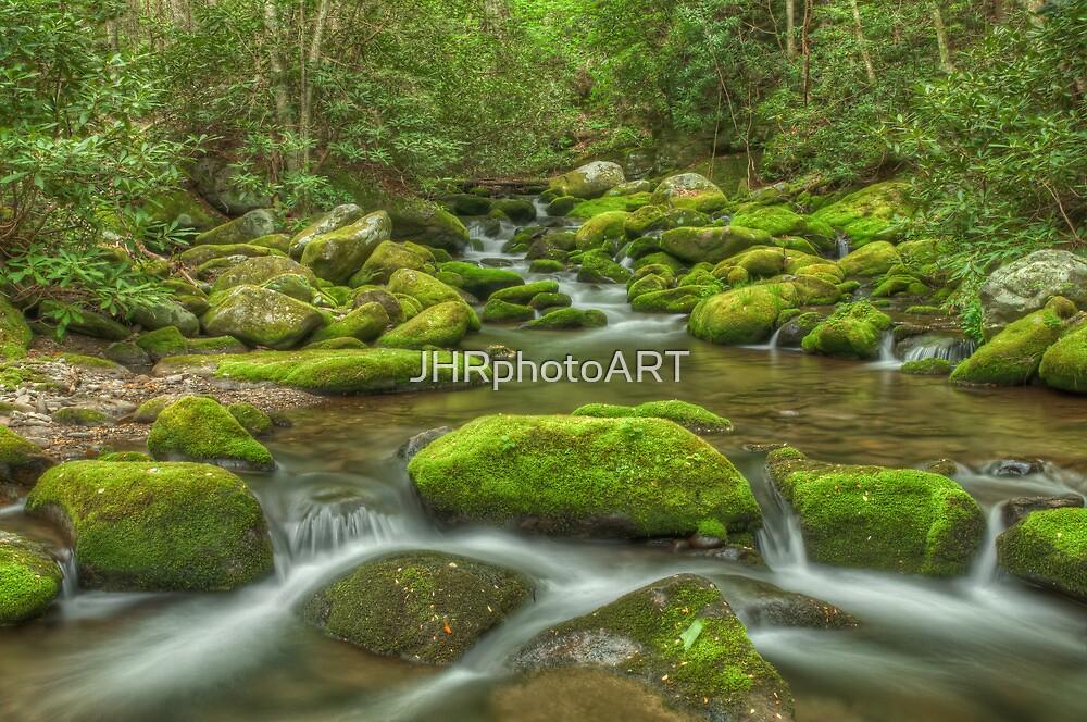 Mossy River Rocks - Roaring Fork River by JHRphotoART