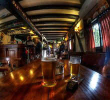 Having a quiet ale at the pub by BigAndRed
