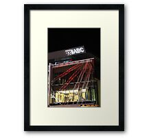 ABC Brisbane Framed Print