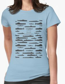 Little black submarines Womens Fitted T-Shirt