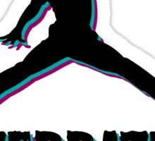 Michael Jordan Is Overrated Trash Sticker