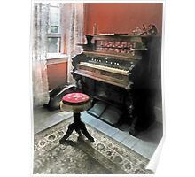 Organ With Petit Point Stool Poster