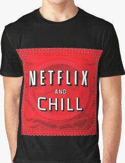 Netflix and chill - condom Graphic T-Shirt