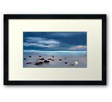 Da beach  Framed Print