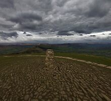 View From Mam Tor by Darren Burroughs