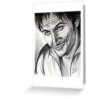 Richard Armitage, charming Lee Greeting Card