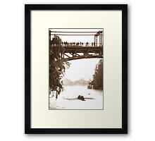 Head of the Lake Regatta 2011 Framed Print