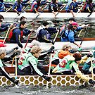 Dragon boats! by LauraZim