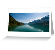 Swiss tranquility  Greeting Card