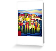 Our kingdom (the family 2) by Alan Kenny  Greeting Card