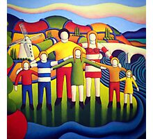 Our kingdom (the family 2) by Alan Kenny  Photographic Print