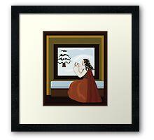 Snow White's Mother Framed Print