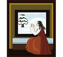Snow White's Mother Photographic Print