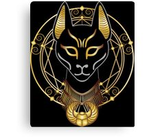 Golden Bastet Canvas Print