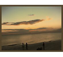 Sunset on the gulf Photographic Print