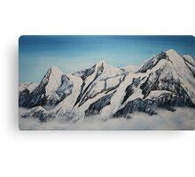 Eiger Jungfrau and Monk Canvas Print