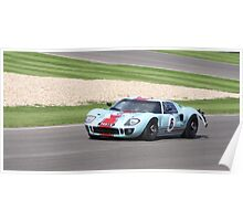 Goodwood Revival Ford GT 40  Poster
