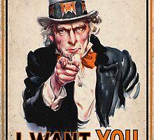 RogueTiger.com - Go Rogue Poster (vintage) by roguetiger