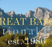 Great Basin National Park  Sticker