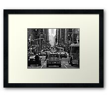 NYC Streets Framed Print