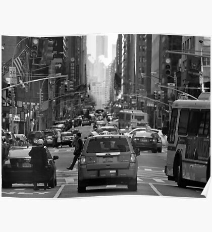 NYC Streets Poster