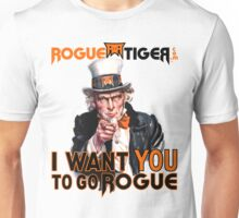 RogueTiger.com - Go Rogue (light) Unisex T-Shirt