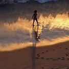 The Young Girl and the Sea - La Niña y el Mar by PtoVallartaMex