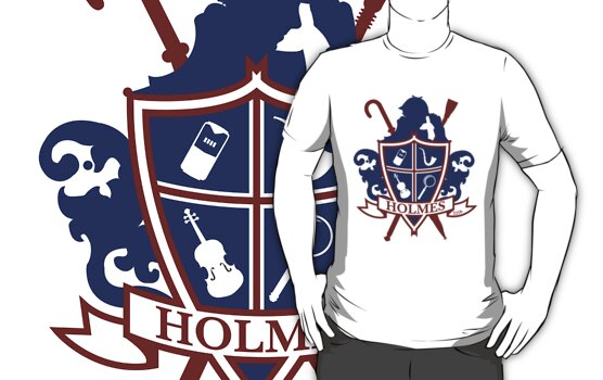 Holmes Family Crest by Ryan Martin