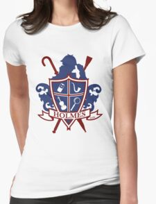 Holmes Family Crest Womens Fitted T-Shirt