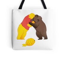Battle for resources Tote Bag