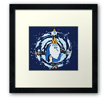 Ice King Evolution Framed Print