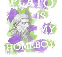 Plato is my homeboy by nimbusnought
