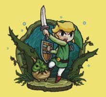 Zelda Wind Waker Forbidden Woods Temple One Piece - Short Sleeve