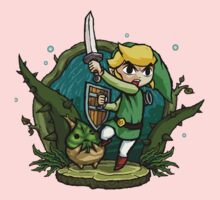 Legend of Zelda Wind Waker Forbidden Woods Temple T-Shirt Kids Clothes