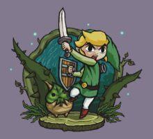 Zelda Wind Waker Forbidden Woods Temple Kids Tee