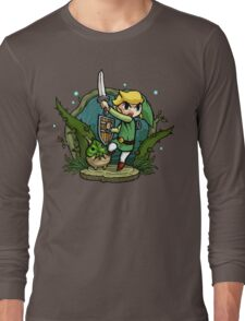 Zelda Wind Waker Forbidden Woods Temple Long Sleeve T-Shirt